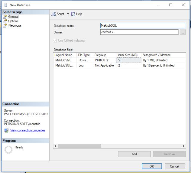 Compresion de datos en SQL Server