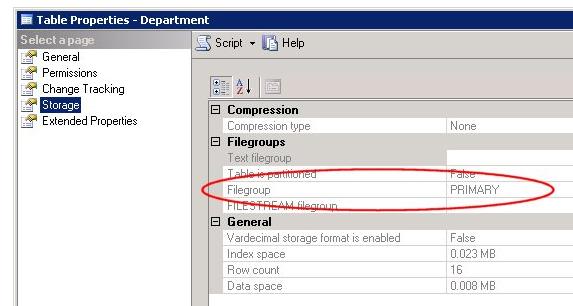 Como mover tablas en SQL