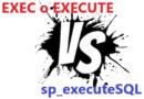 Princiales diferencias y ventajas : Consultas dinamicas con EXEC vs sp_executeSQL